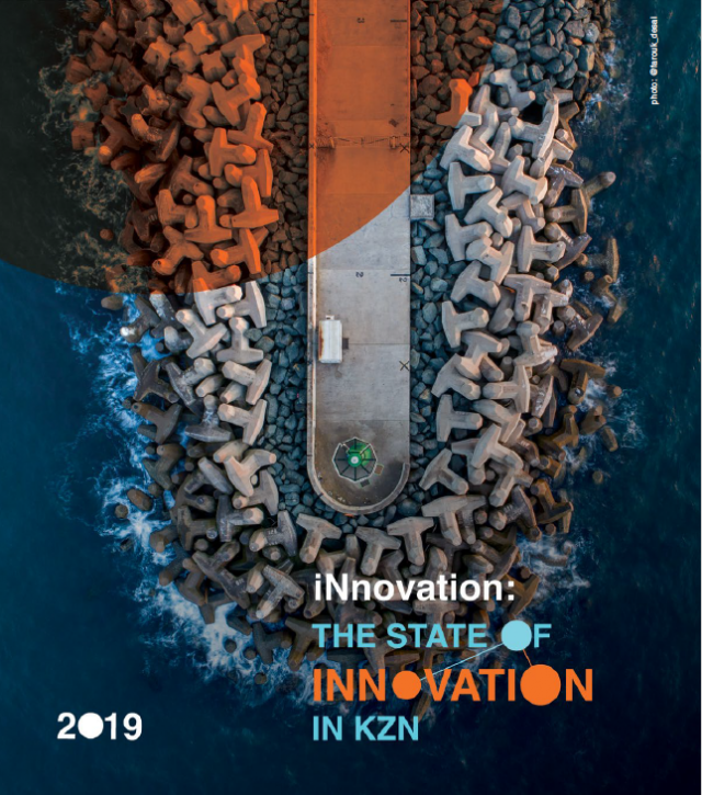 Cover of the State of Innovation in KZN 2019 report